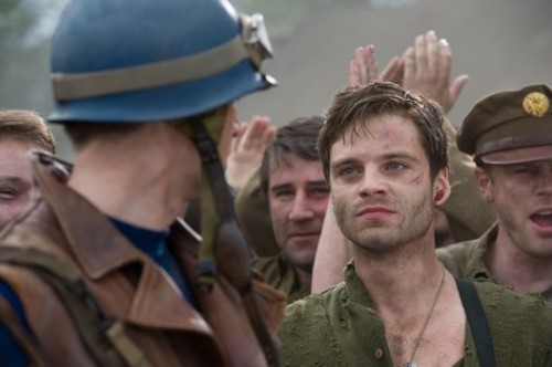 He looks more like this, just, without all the almost-death. Credit: http://www.examiner.com/slideshow/sebastian-stan-will-grow-up-from-sidekick-bucky-to-winter-soldier#slide=3
