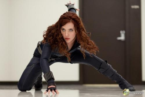 Hey look! A female. *falls over dead from shock* Credit: http://www.worldofsuperheroes.com/film-tv/black-widow-concept-artist-andy-park-talks-about-designing-her-outfit-in-the-avengers/