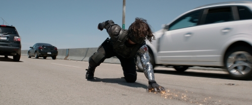 I don't think he'd be in acting if he could do this. Caption: http://www.beyondhollywood.com/40-plus-new-images-from-captain-america-the-winter-soldier/sebastian-stan-in-captain-america-the-winter-soldier-2014-movie-image-6/