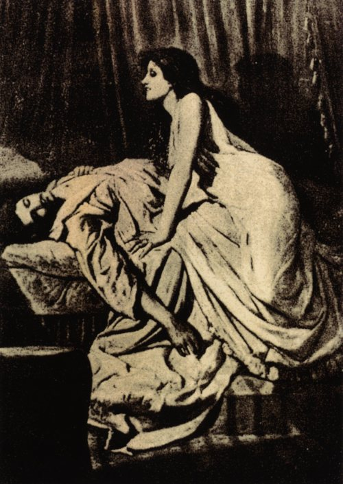"""The Vampire"" by Philip Burne-Jones"